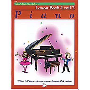 Alfred Basic Piano Course- lesson Book 2 - Music Book (AlFRD40696)