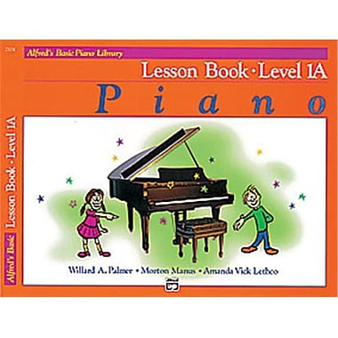 Alfred Basic Piano Course- lesson Book 1A - Music Book (AlFRD40693)