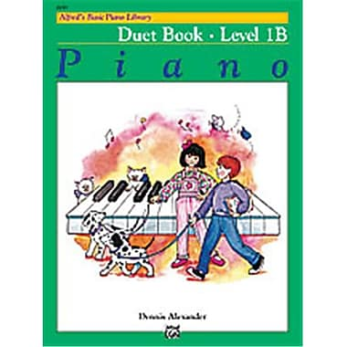 Alfred Basic Piano Course- Duet Book 1B - Music Book (AlFRD40722)