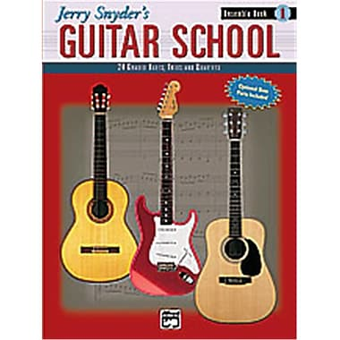 Alfred Jerry Snyder s Guitar School- Ensemble Book 1 - Music Book (AlFRD36000)