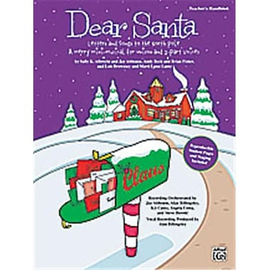 Alfred Dear Santa- letters and Songs to the North Pole - Music Book (AlFRD38976)