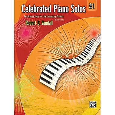 Alfred Celebrated Piano Solos- Book 1 - Music Book (AlFRD43143)