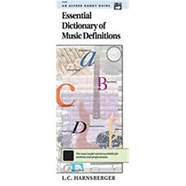 Alfred Essential Dictionary of Music Definitions - Music Book (AlFRD48625)