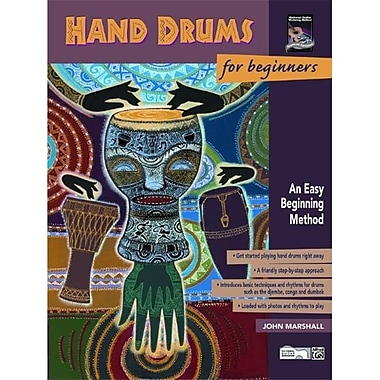 Alfred Hand Drums for Beginners - Music Book (AlFRD39958)