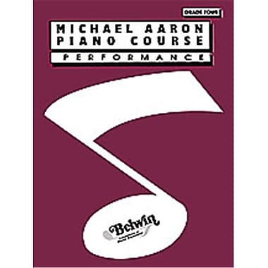 Alfred Michael Aaron Piano Course- Performance- Grade 4 - Music Book (AlFRD40478)