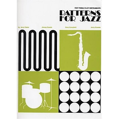 Alfred Patterns for Jazz- A Theory Text for Jazz Composition and Improvisation - Music Book (AlFRD48812)