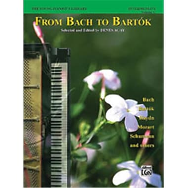 Alfred The Young Pianist s library- From Bach to Bartk- Book 1C - Music Book (AlFRD40505)