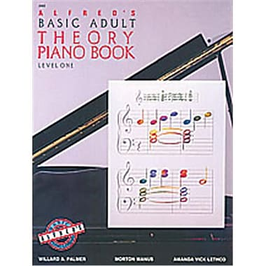 Alfred Basic Adult Piano Course- Theory Book 1 - Music Book (AlFRD40548)