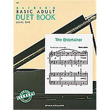 Alfred Basic Adult Piano Course- Duet Book 1 - Music Book (AlFRD40543)