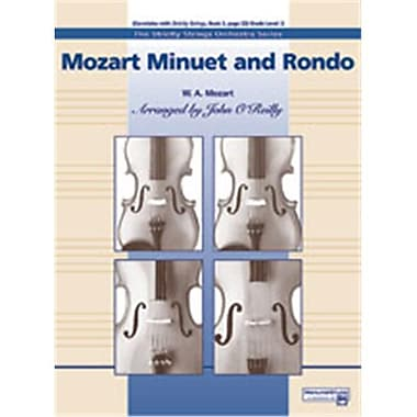 Alfred Mozart Minuet and Rondo - Music Book (AlFRD47079)