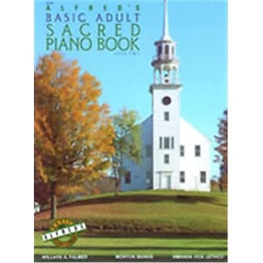 Alfred Basic Adult Piano Course- Sacred Book 1 - Music Book (AlFRD40552)