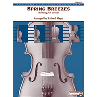 Alfred Spring Breezes - Music Book (AlFRD47113)