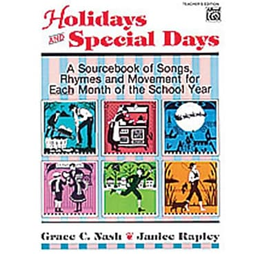 Alfred Holidays and Special Days - Music Book (AlFRD35466)