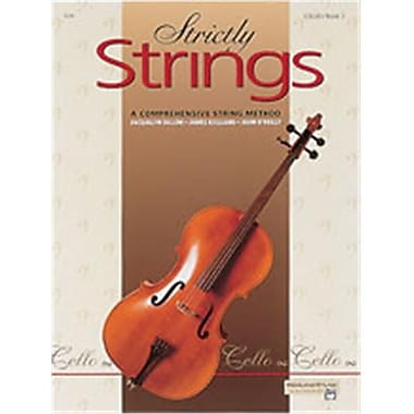 Alfred Strictly Strings- Book 1 - Music Book (AlFRD48211)