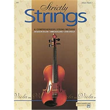 Alfred Strictly Strings- Book 2 - Music Book (AlFRD48204)