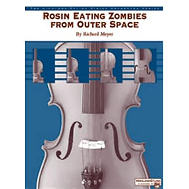 Alfred Rosin Eating Zombies from Outer Space - Music Book (AlFRD47110)