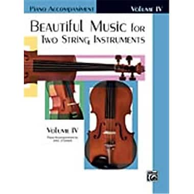 Alfred Beautiful Music for Two String Instruments- Book IV - Music Book (AlFRD48337)