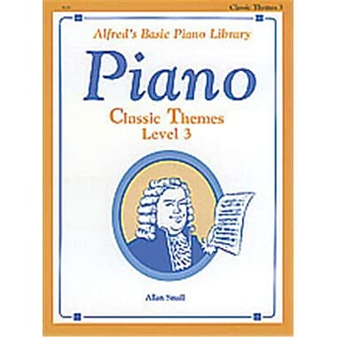 Alfred Basic Piano Course- Classic Themes Book 3 - Music Book (AlFRD40755)