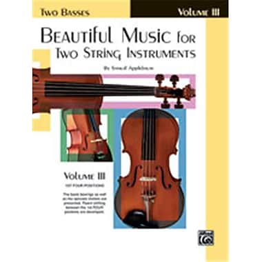 Alfred Beautiful Music for Two String Instruments- Book III - Music Book (AlFRD48336)