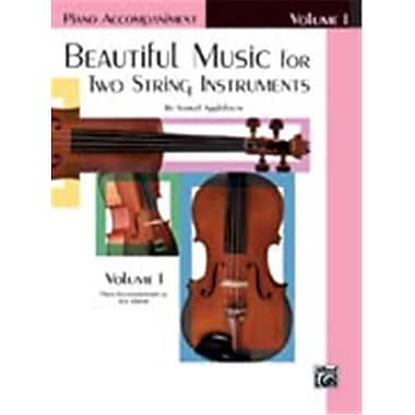 Alfred Beautiful Music for Two String Instruments- Book I - Music Book (AlFRD48325)