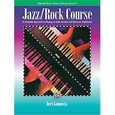 Alfred Basic Jazz-Rock Course- lesson Book- level 1 - Music Book (AlFRD40628)