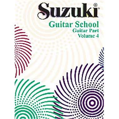 Alfred Suzuki Guitar School Guitar Part- Volume 4 - Music Book (AlFRD35548)