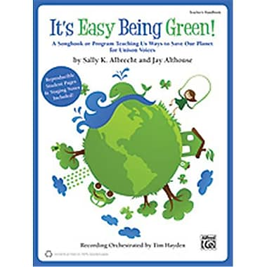 Alfred It s Easy Being Green - Music Book (AlFRD35463)