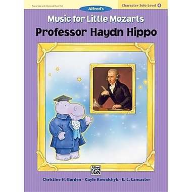 Alfred Music for little Mozarts- Character Solo- Professor Haydn Hippo- level 4 - Music Book (AlFRD41529)