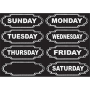 Ashley Productions Die-Cut Magnets Chalkboard Days Of The Week (EDRE51068)