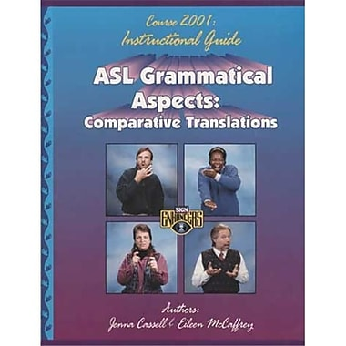 Cicso Independent ASl Grammatical Aspects Guide (HRSC088)