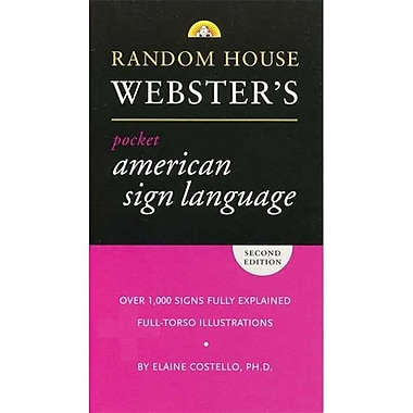 Cicso Independent Pocket American Sign language Dictionary (HRSC166)