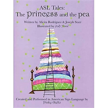 Cicso Independent ASl Tales - The Princess and the Pea Book and DVD (HRSC754)