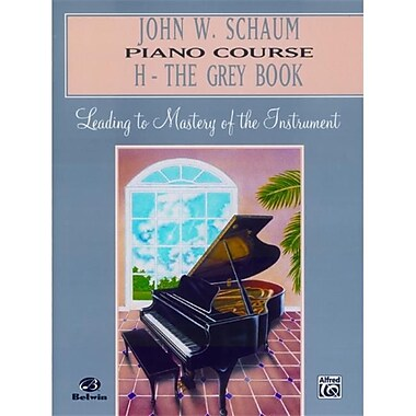 Alfred John W. Schaum Piano Course- H- The Grey Book - Music Book (AlFRD41628)