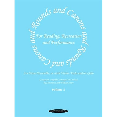 Alfred Rounds and Canons for Reading- Recreation and Performance- Piano Ensemble- Volume 2 - Music Book (AlFRD41931)