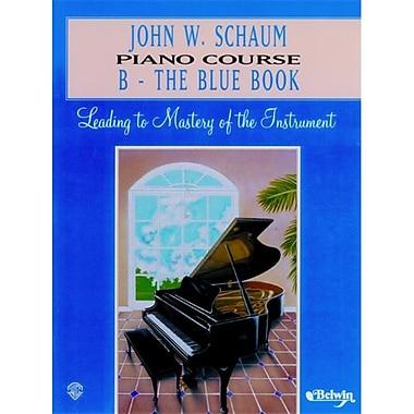 Alfred John W. Schaum Piano Course- B- The Blue Book - Music Book (AlFRD41622)