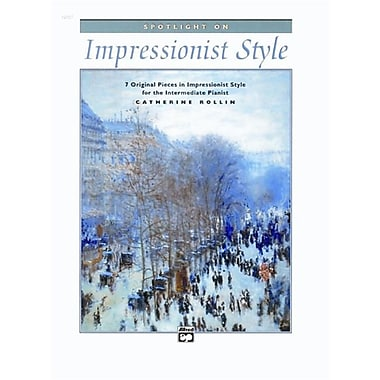 Alfred Spotlight on Impressionist Style - Music Book (AlFRD42076)