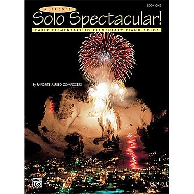 Alfred Solo Spectacular Book 1 - Music Book (AlFRD42070)