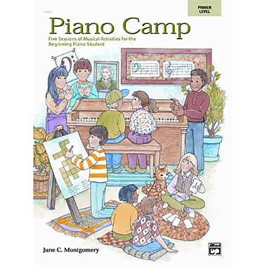 Alfred Piano Camp- Primer - Music Book (AlFRD42061)