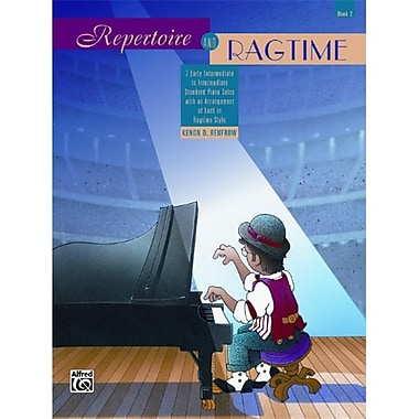 Alfred Repertoire and Ragtime- Book 2 - Music Book (AlFRD42219)
