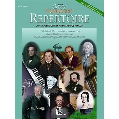 Alfred Meet the Great Composers- Repertoire- Book 2 - Music Book (AlFRD42217)