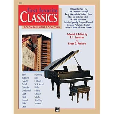 Alfred First Favorite Classics- Accompaniment- Book 2 - Music Book (AlFRD42142)