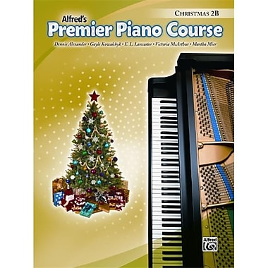 Alfred Premier Piano Course- Christmas Book 2B - Music Book (AlFRD40943)