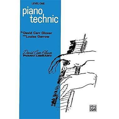Alfred Piano Technic- level 1 - Music Book (AlFRD41309)