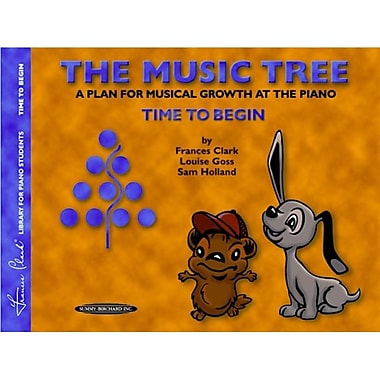 Alfred The Music Tree- Student s Book- Time to Begin - Music Book (AlFRD41256)