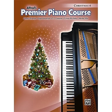 Alfred Premier Piano Course- Christmas Book 4 - Music Book (AlFRD40950)
