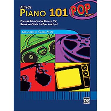 Alfred Piano 101- Pop Book 1 - Music Book (AlFRD40889)