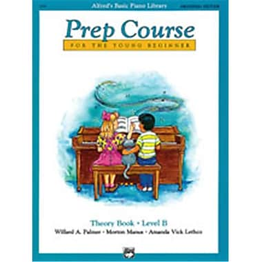 Alfred Basic Piano Prep Course- Universal Edition Theory Book B - Music Book (AlFRD40876)