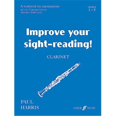 Alfred Improve Your Sight-reading Clarinet- Grade 1-3 - Music Book (AlFRD49736)
