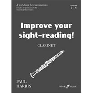 Alfred Improve Your Sight-reading Clarinet- Grade 7-8 - Music Book (AlFRD49746)