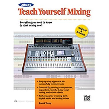 Alfred Teach Yourself Mixing - Music Book (AlFRD48871)